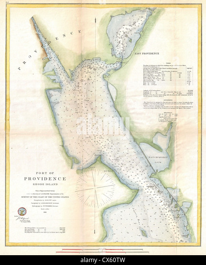 Providence Map Stock Photos Providence Map Stock Images Alamy