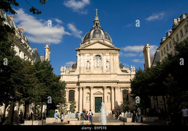 Place de la sorbonne stock photos place de la sorbonne for Sorbonne paris