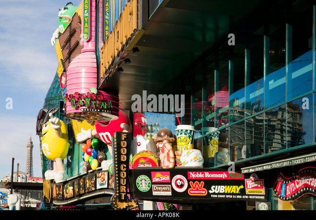 M&m World Las Vegas Stock Photos & M&m World Las Vegas Stock ...