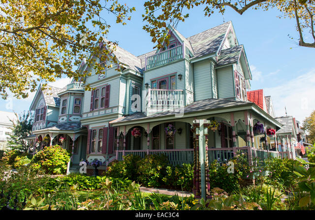 Victorian Style Home Stock Photos Victorian Style Home