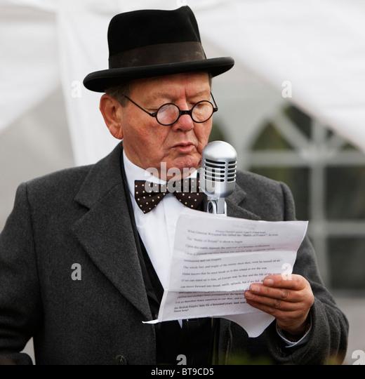 Churchill first speech