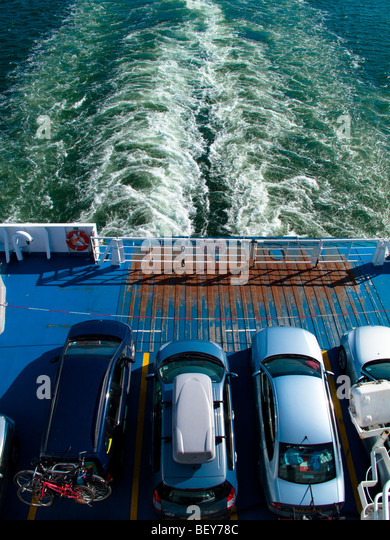 Cross Channel Transport Brittany Ferries Stock Photos Cross