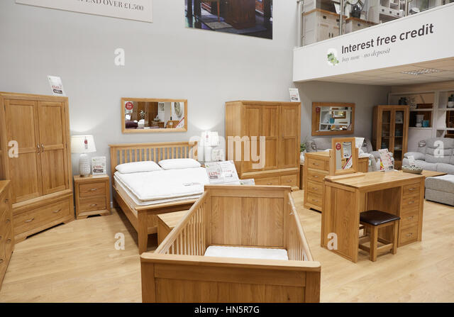 The Interior Of Macclesfield Oak Furniture Land A Privately Owned British  Designer, Manufacturer And Retailer