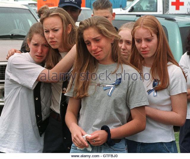 Columbine High School In Littleton Co: Columbine High School Stock Photos & Columbine High School