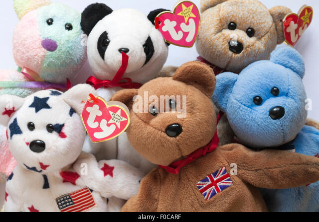 selection-of-ty-original-beanie-baby-ted