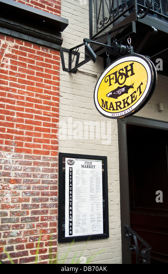 Old storefront stock photos old storefront stock images for Fish market alexandria va