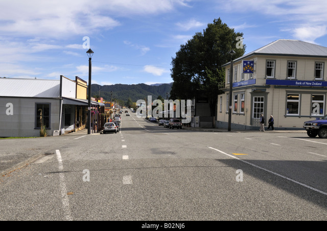 Reefton New Zealand  city photo : Reefton New Zealand Stock Image