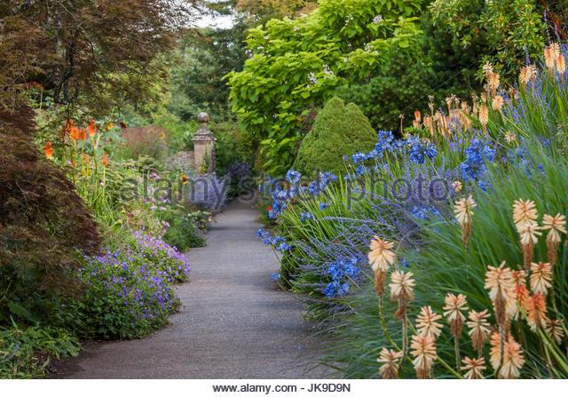 Paradise Walk at Borde Hill - Stock Image