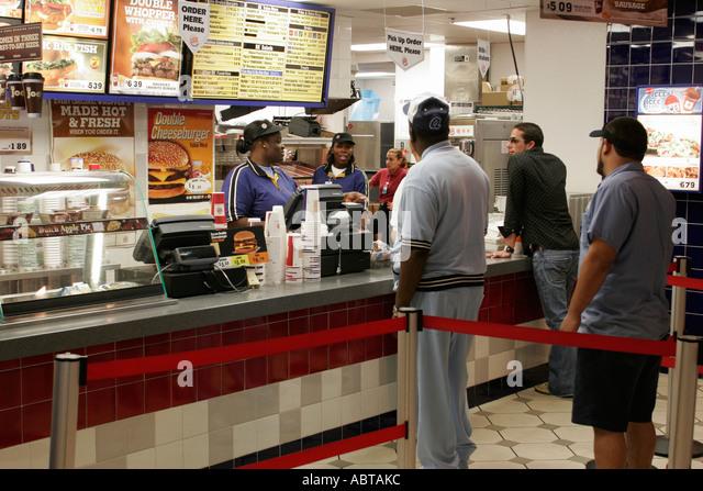 Burger King Worker Stock Photos Burger King Worker Stock