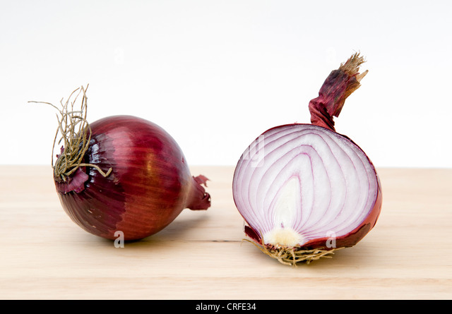 Onion Halved Stock Photos & Onion Halved Stock Images - Alamy