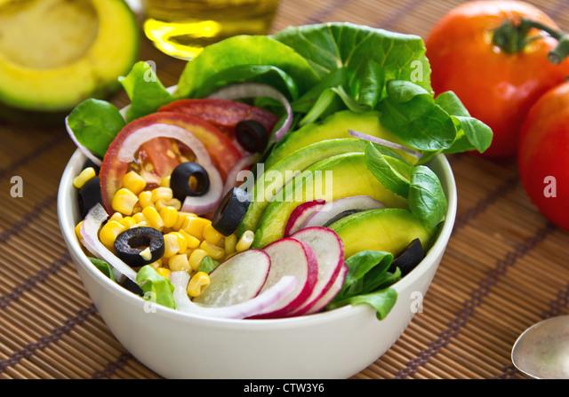 Corn Salad Stock Photos & Corn Salad Stock Images - Alamy