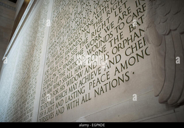 lincolns 2nd inaugural address The very short list of lincoln's literary/rhetorical devices two or more things the second part is usually positive ex:  gave their lives that that nation might live  barack obama, first inaugural address.