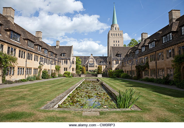 nuffield college oxford stock photos   nuffield college