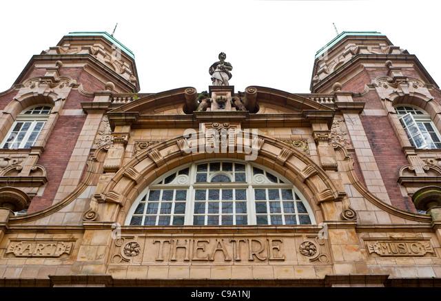Front Elevation Theatre : Richmond theatre stock photos