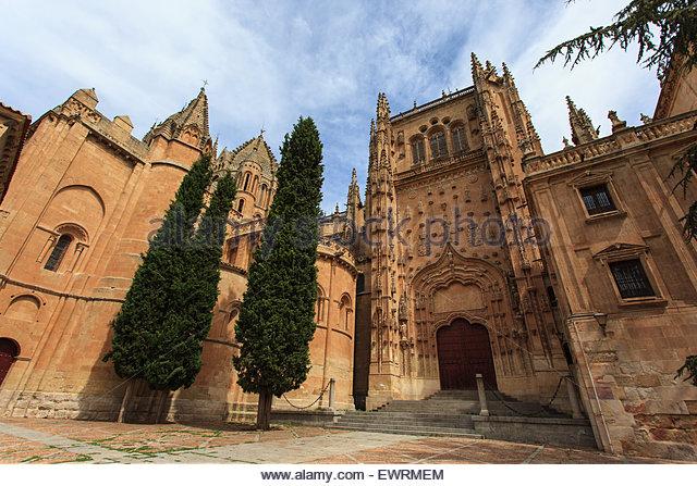 Catedral Nueva Salamanca Stock Photos & Catedral Nueva ...