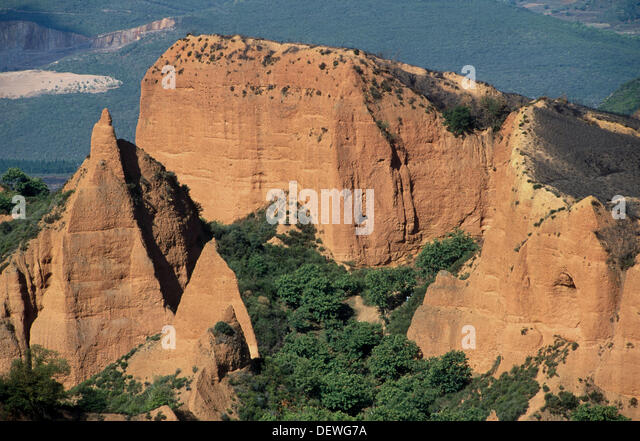 Roman Gold Mines Stock Photos & Roman Gold Mines Stock Images - Alamy