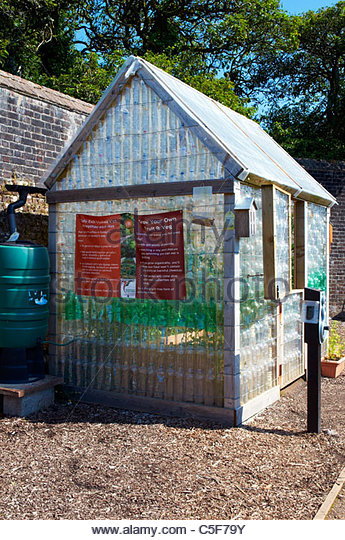 Greenhouse made out of waste recycled plastic bottles in a for What is a greenhouse made out of
