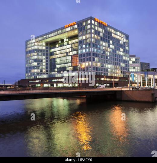 Hamburg germany building german publishing stock photos for Der spiegel hamburg