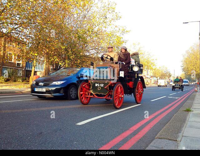 Bonhams London to Brighton Veteran Car Run sees vintage