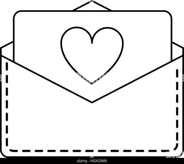 Love Letter Black and White Stock Photos  Images  Alamy
