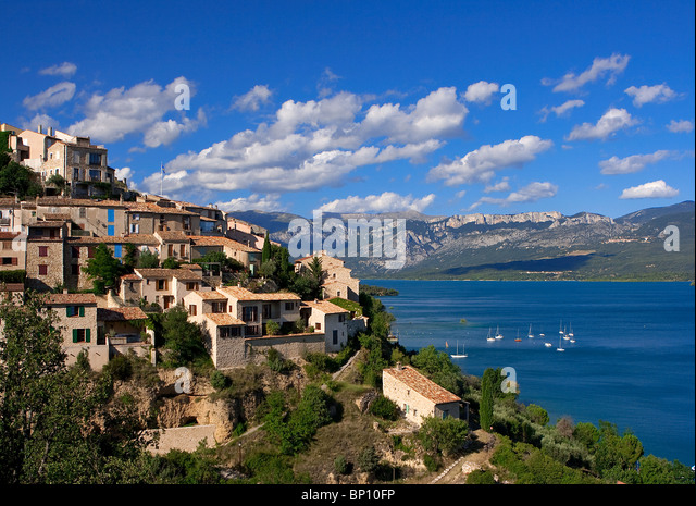 Sainte croix du verdon stock photos sainte croix du - Sainte croix du verdon office du tourisme ...