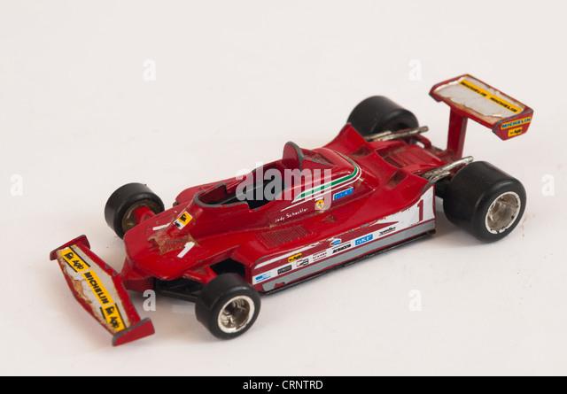 Polistil Jody Schekler F1 Ferrari Toy Model   Stock Image