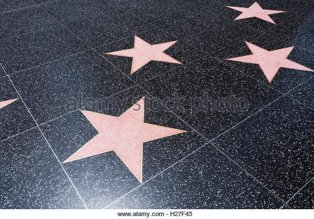star hollywood boulevard nobody stock photos amp star