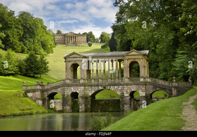 The Palladian Bridge, And House (not Owned By The NT) In The Distance