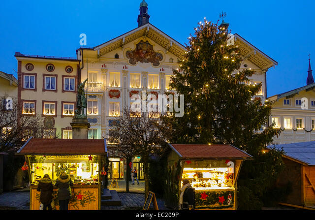 christmas market in bad tolz stock photos christmas. Black Bedroom Furniture Sets. Home Design Ideas