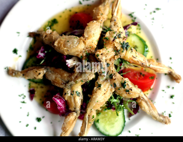 Frogs Legs Dish Stock Photos & Frogs Legs Dish Stock ...