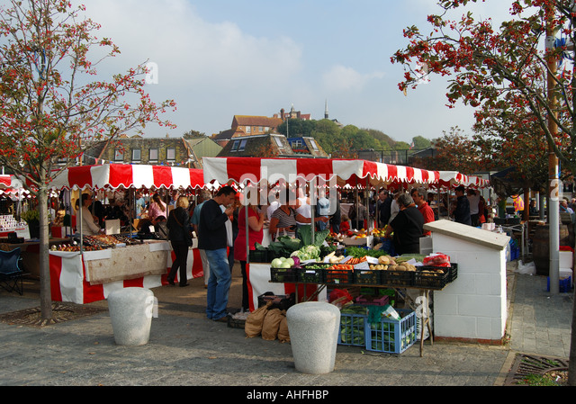English market france stock photos english market france for Outdoor food market