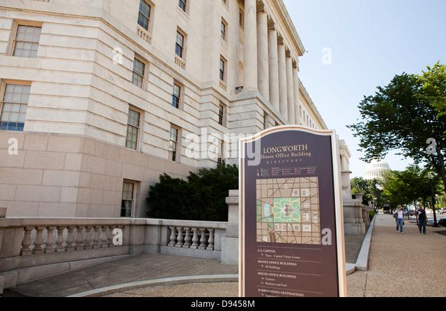 Longworth House Office Building, US House Of Representatives   Washington,  DC USA   Stock