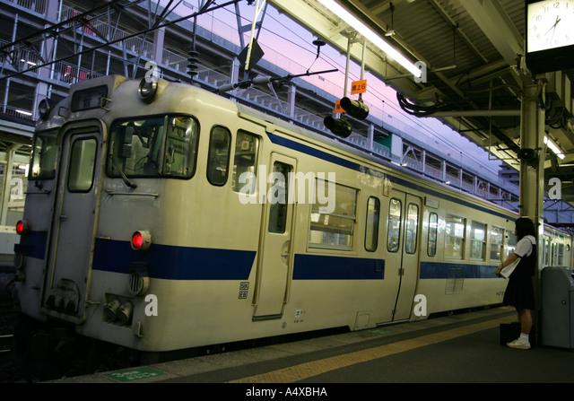 Ibusuki Train Station Stock Photos & Ibusuki Train Station Stock Images -...