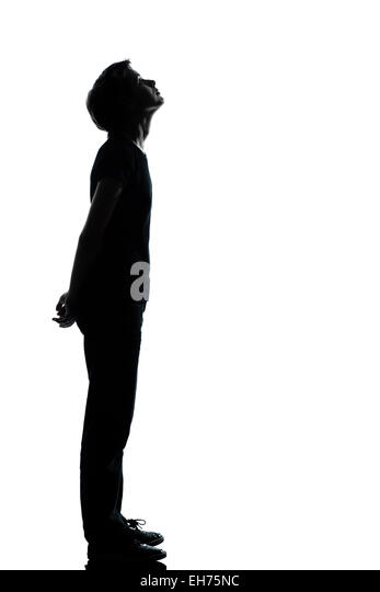 girl looking up silhouette wwwpixsharkcom images