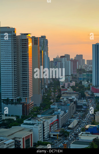 Metro Manila At Night Stock Photos Metro Manila At Night Stock Images Alamy