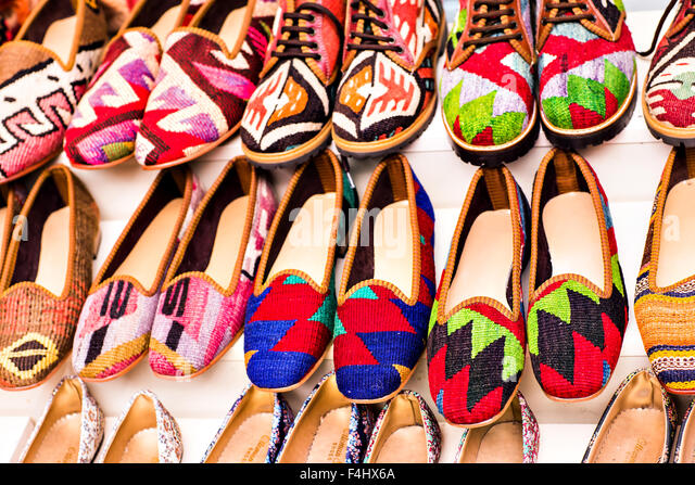 Istanbul Grand Bazaar Shoes Stock Photos Amp Istanbul Grand