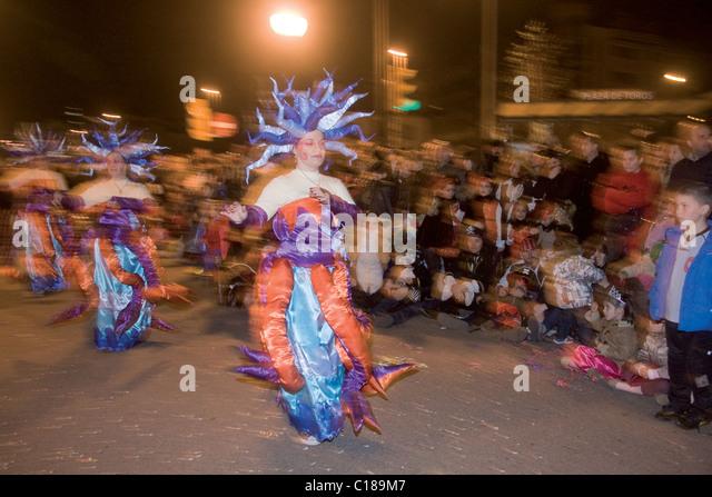 Drag queen at carnival stock photos drag queen at - Carnaval asturias 2017 ...
