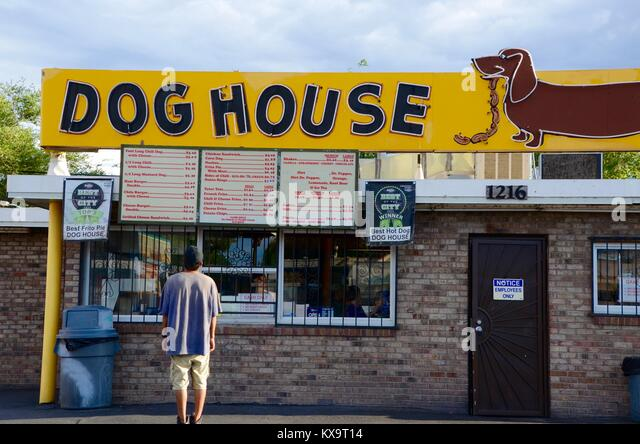 Weiner dog stock photos weiner dog stock images alamy for Dog house albuquerque