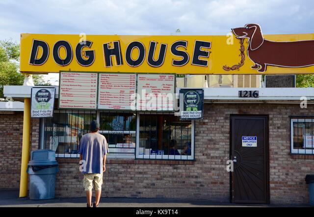 Weiner dog stock photos weiner dog stock images alamy for Dog house albuquerque