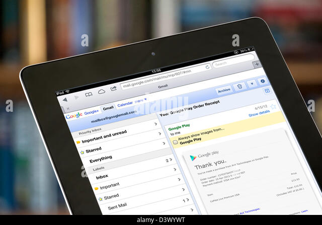how to cancel gmail account on ipad