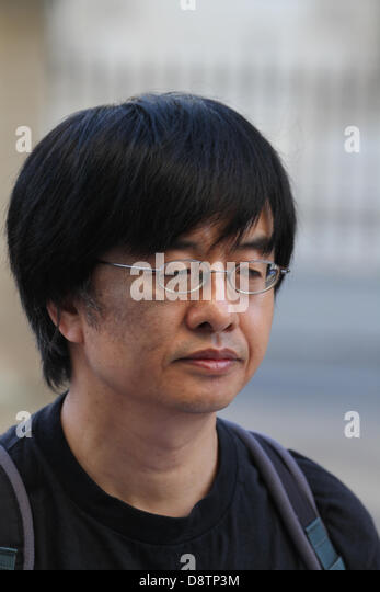 <b>Shao Jiang</b> who was a student witness of the massacre in - london-4-june-2013-shao-jiang-who-was-a-student-witness-of-the-massacre-d8tp3m
