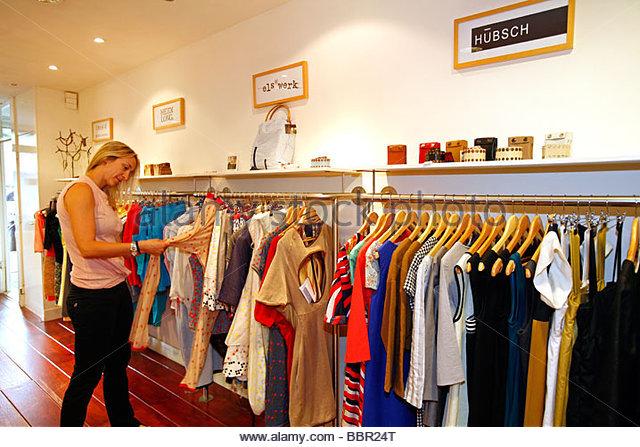 Womens [clothes Shop] Shopping Stock Photos & Womens [clothes Shop ...
