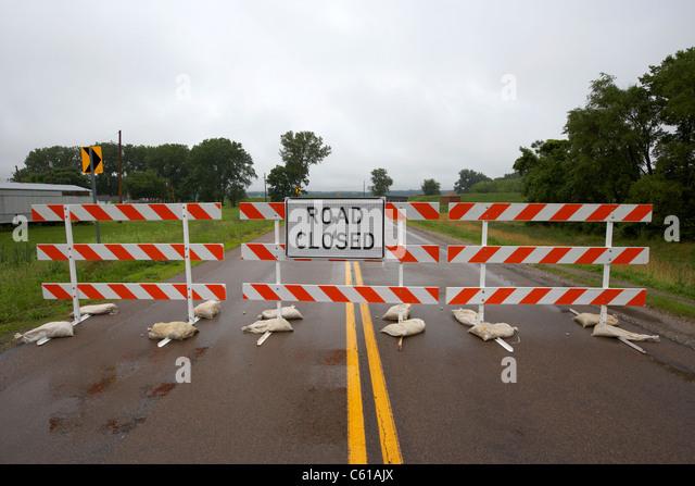 Barrier highway stock photos