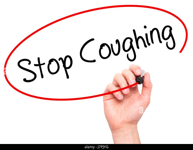 how to stop heavy coughing