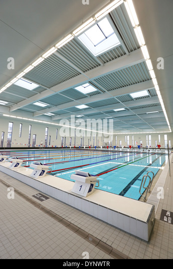 The 50 Metre Swimming Pool At Aberdeen Aquatic Centre At Aberdeen