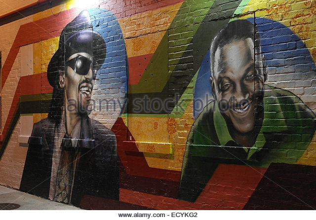 Donnie simpson stock photos donnie simpson stock images for Chuck brown mural