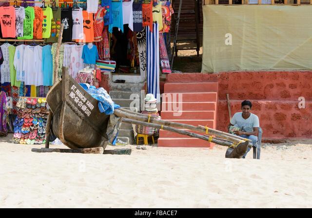 Goa shops stock photos goa shops stock images alamy for Big mohawk fishing boat