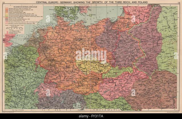 Third Reich Stock Photos Third Reich Stock Images Alamy - Third reich map 1944