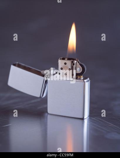 Zippo flame