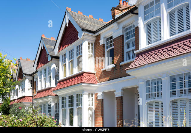 Terraced Houses Udney Park Road Teddington London Borough Of Richmond Upon Thames